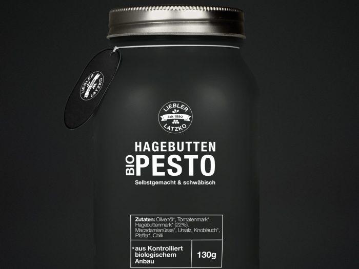 Liebler-Latzko Etikett Pesto